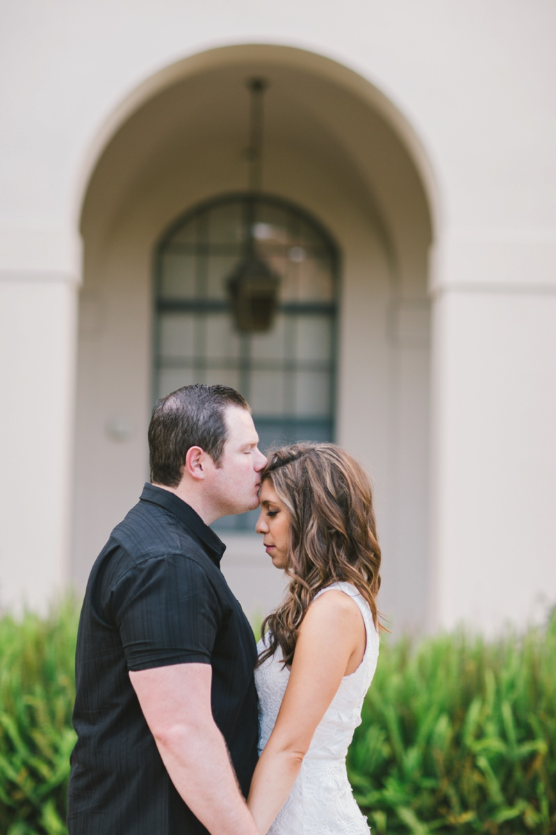 los angeles romantic fine art engagement session photo