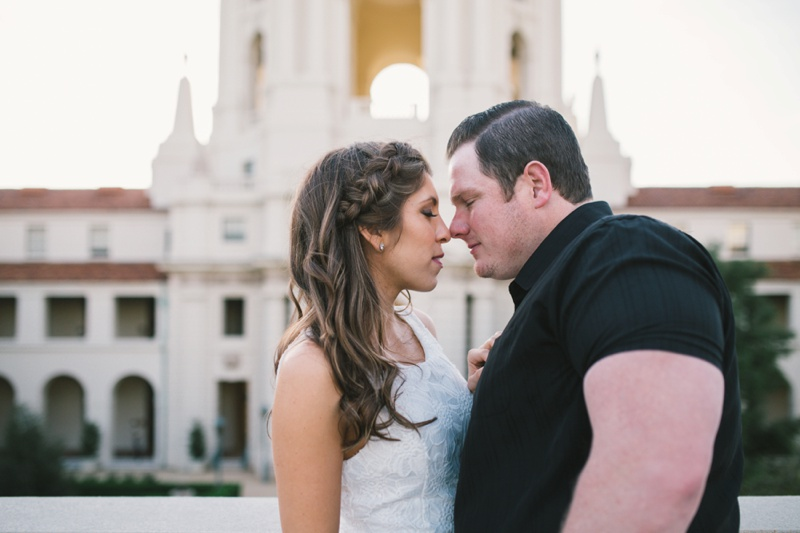 pasadena city hall engagement session photo