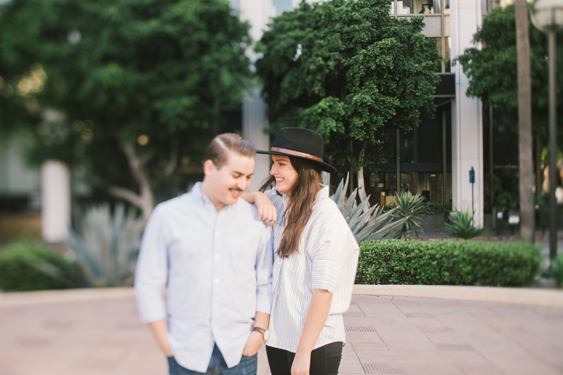 los angeles wedding photographer engagement session photo