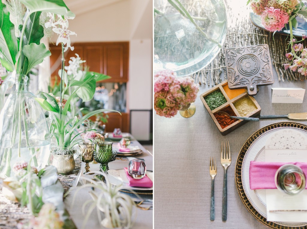 photography by paulina los angeles fine art wedding photographer succulent wedding tablescape photo