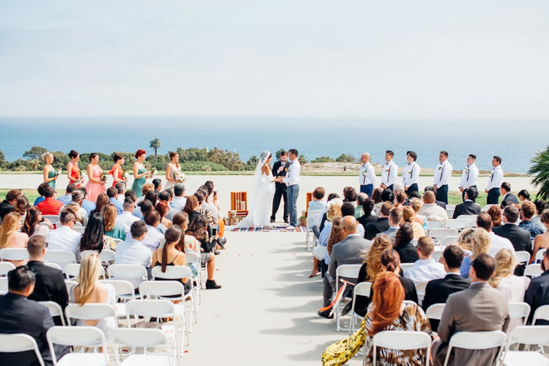 Southern California Beach Wedding Photography Coastal Korean Friendship Bell By Romantic Fine Art