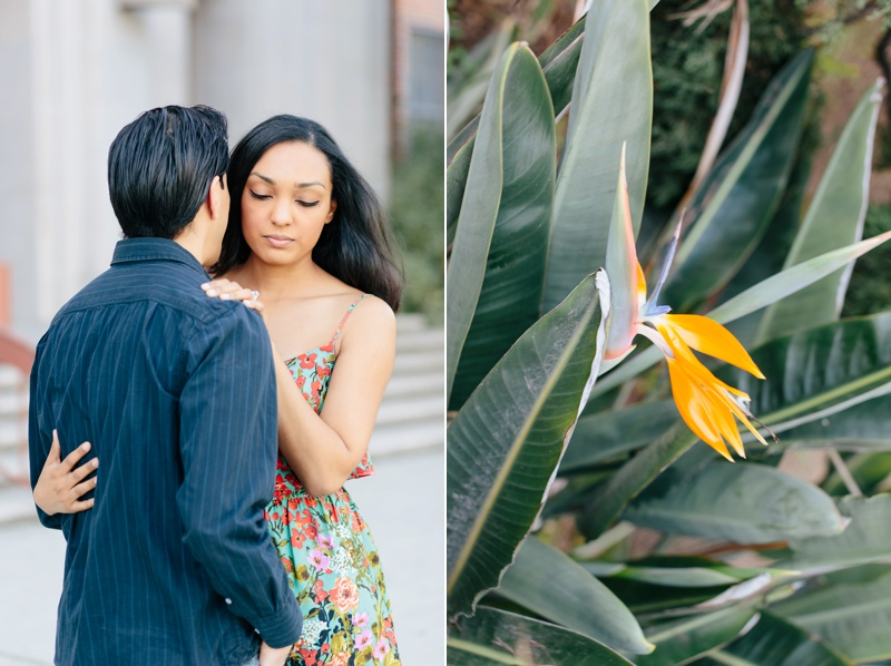 santa monica engagement session photo