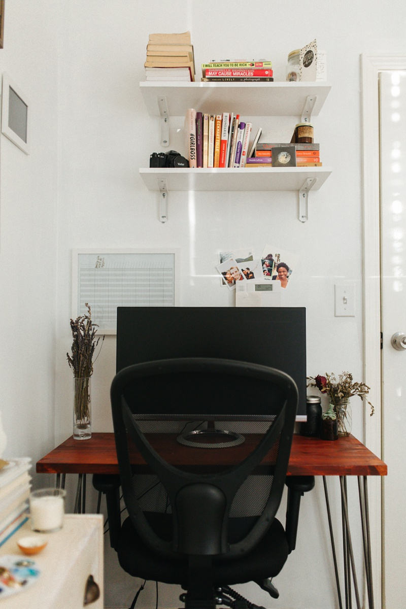 home office interior home studio tour photography photo