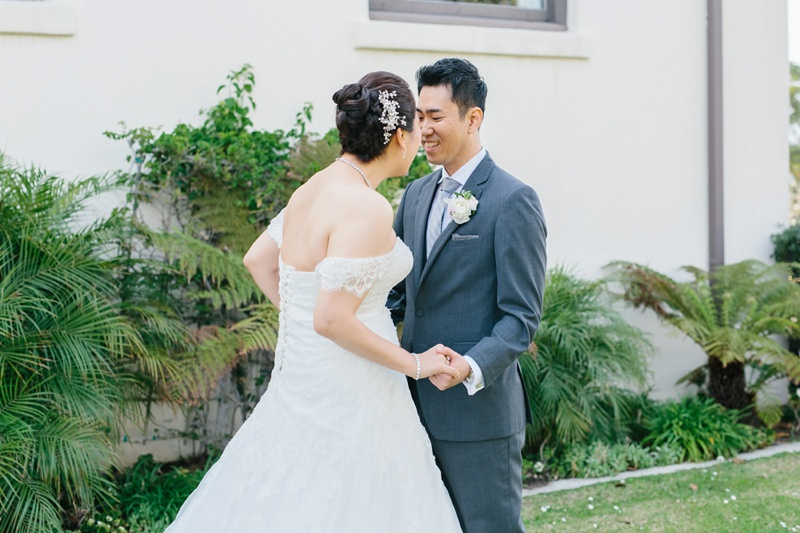 redondo beach historic library wedding photography photo