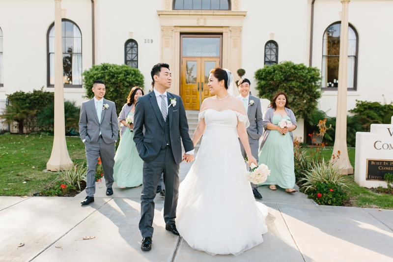 redondo beach historic library wedding