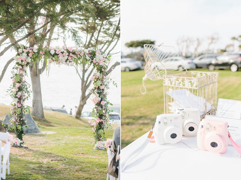 fujifilm instax wedding guestbook photo