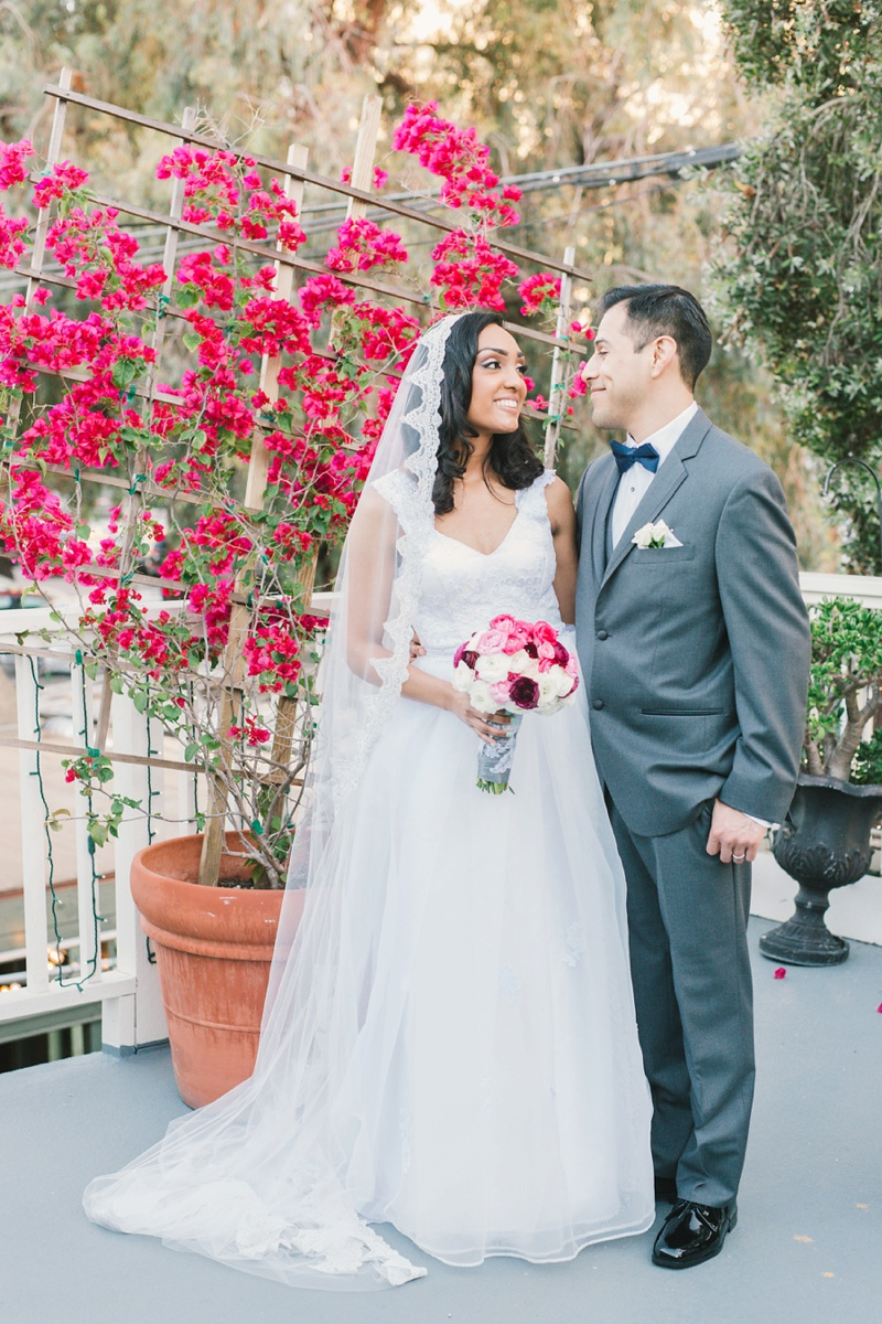the victorian santa monica wedding photo