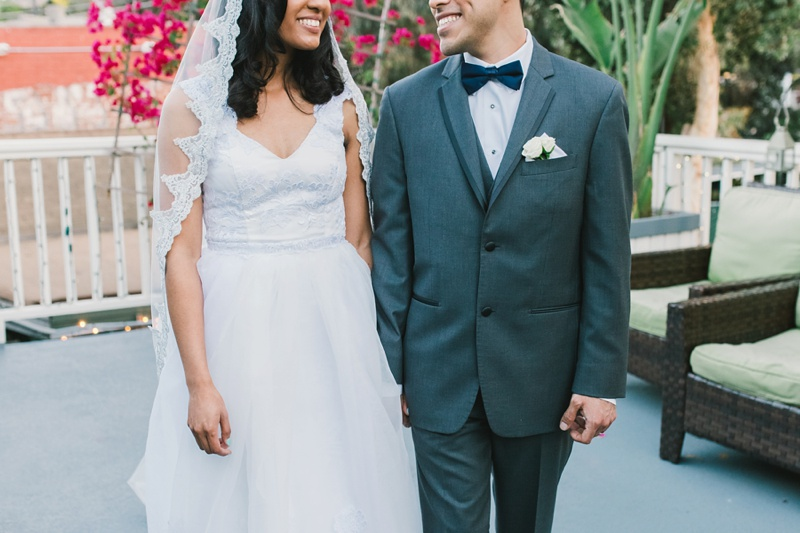 the victoria santa monica wedding photo