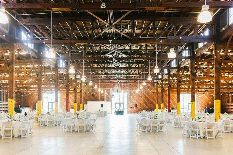 crafted at the port of los angeles warehouse wedding photo los angeles