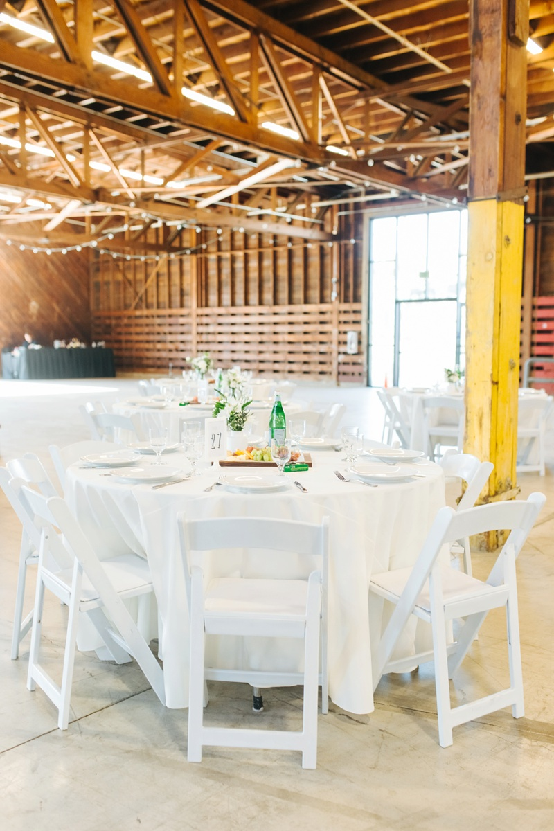 crafted at the port of los angeles wedding photo