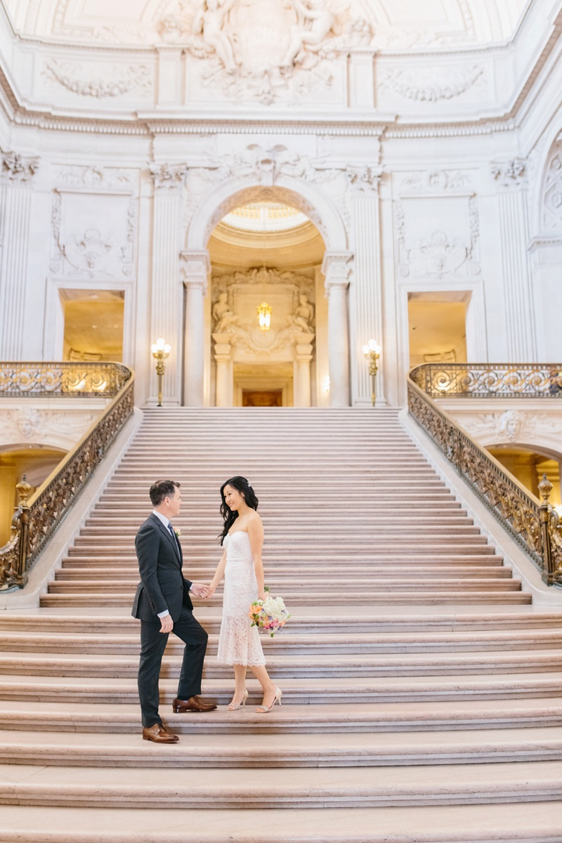 san francisco city hall elopement photographer photo