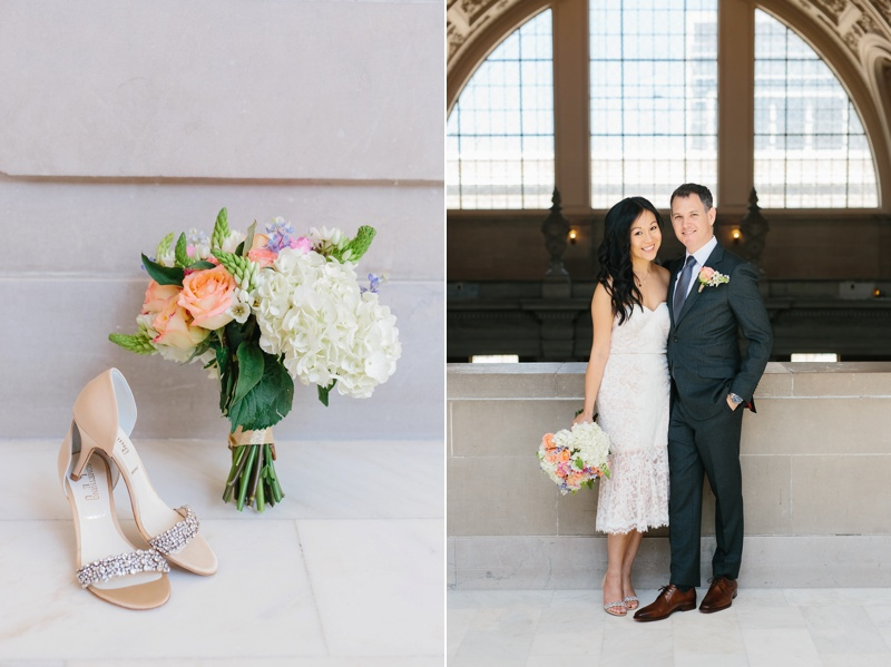san francisco city hall fine art elopement photographer photo