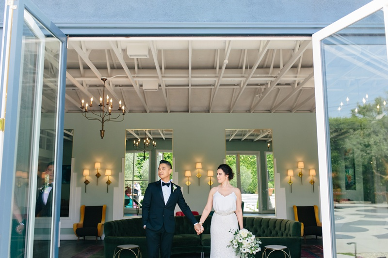 the fig house los angeles wedding photo