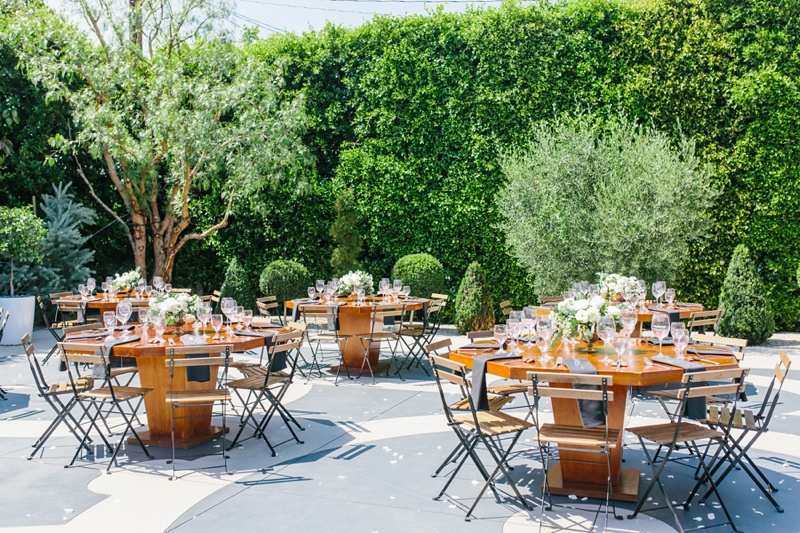 outdoor brunch wedding inspiration photo